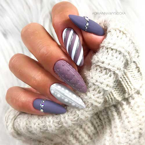 the cutest christmas sweater nails of 2020 cute manicure cute manicure